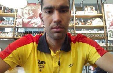 Omar Mendoza desde Cochabamba, Bolivia en entrevista con RMC (Foto Team Medellín)