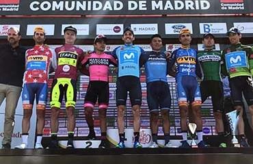 Fabio Duarte terminó en la segunda casilla del podio de la ronda madrileña 2018