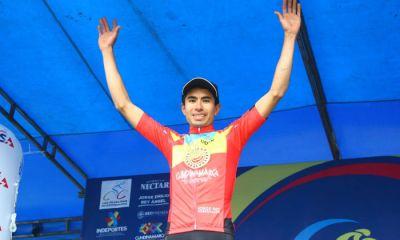 Wldy Sandoval ganó cronoescalada y es primer líder de Vuelta a Cundinamarca