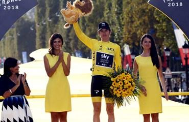 El británico Geraint Thomas, el nuevo campeón del Tour de Francia 2018