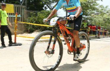 Jonathan Botero, medalla de plata en el MTB de los Juegos Centroamericanos 2018