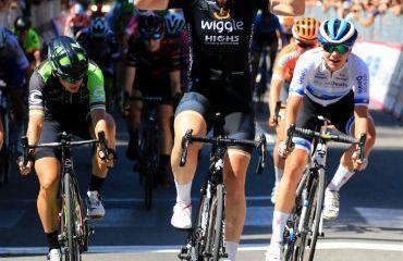Kirsten Wild vencedora de segunda etapa de Giro Rosa