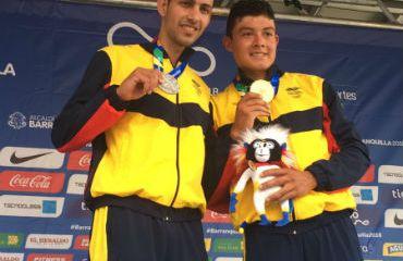 Colombia con Walter Vargas, plata y Rodrigo Contreras, oro en la CRI de los Juegos Centroamericanos