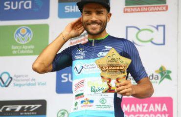 Carlos Julián Quintero el vencedor de la sexta etapa de Vuelta a Colombia