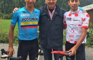 Daniel Muñoz, nuevo integrante del equipo de Gianni Savio e Iván Ramiro Sosa marcha al Trek-Segafredo