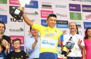 Jonathan Caicedo, el gran campeón de la Vuelta a Colombia 2018