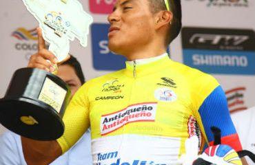 Jonathan Caicedo, el nuevo campeón de la Vuelta a Colombia 2018