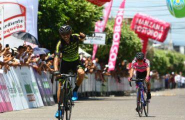 José Serpa ganador de undécima etapa de Vuelta a Colombia en Puerto Boyacá