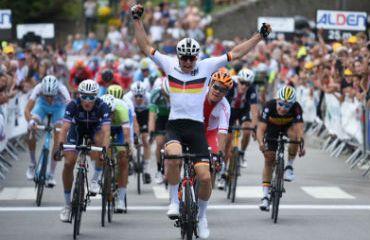El alamán Max Kanter ganador de primera etapa y líder de Tour de L'Avenir