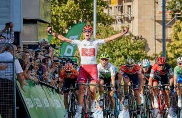 Nils Politt vencedor de úlitma etapa de Tour de Alemania (Foto Tour de Alemania)