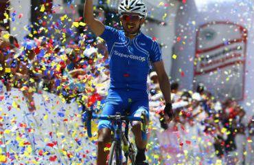 Salvador Moreno se impuso en penúltima etapa de Vuelta a Colombia