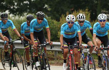 La Selección Colombia realizó este miércoles su primer entrenamiento en Francia (Foto FCC)