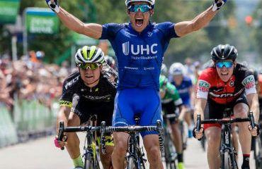 Travis Mccabe vencedor de primera etapa de Tour de Utah de los Estados Unidos