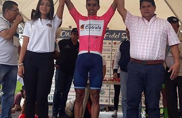 Cristian Montoya ganó la 2da etapa y es Líder de la Clásica Marco Fidel Suárez 2018