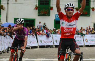 Juan Diego Alba alcanzó la victoria en etapa reina de Vuelta a Boyacá