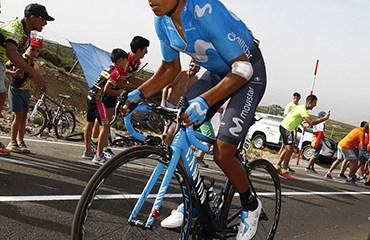 Nairo exhibió este domingo toda su clase en una de las etapas claves de la Vuelta a Colombia 2018