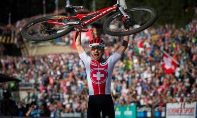 Nino Schurter alcanzó este sábado su séptimo título mundial de Cross Country