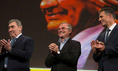 La gala contó con la presencia Eddy Merckx, Bernard Hinault y Miguel Indurain (Fotos Tour de Francia)