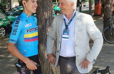 Miguel Flórez en el 2019 un a de las nuevas caras del Androni Sidermec de Gianni Savio