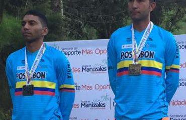 Oscar Rodríguez, medalla de oro para Colombia en prueba de rígidos en Panamericano de DownHill (Foto FCC)