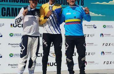 Carlos Mario Oquendo, medalla de bronce en séptima válida de Copa Latinoamricana de BMX