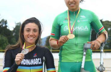 La boyacense Carolina Munevar alcanzó oros en 500 metros (C20, Tándem y C2).