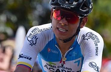 Edwin Avila se mantiene en la nómina del Pro Continental Israel Cycling Academy para el 2019