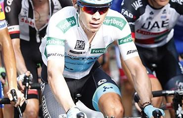 Miguel Ángel López quedó satisfecho con el nuevo trazado de la Vuelta a España 2019