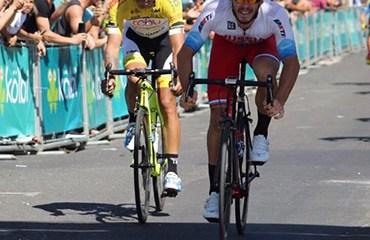 El nariñense Oscar Quiroz fue segundo en la apertura de la Vuelta a Costa Rica 2018