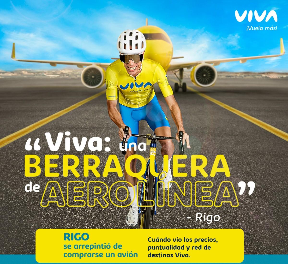Rigoberto Urán se convierte en nuevo embajador de la aerolínea Viva –  Revista Mundo Ciclístico