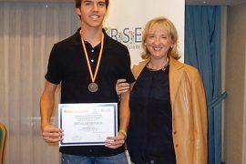 miguel molina abad, medalla de plata en la xviii olimpiada nacional de química