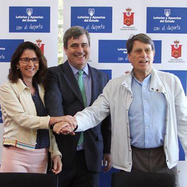 loterías y apuestas del estado, nuevo patrocinador de la federación a de atletismo