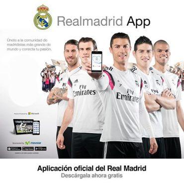 el real madrid c.f. presenta la nueva real madrid app