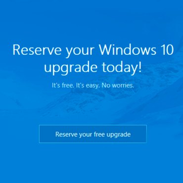 Windows 10 estará disponible el próximo 29 de julio 2
