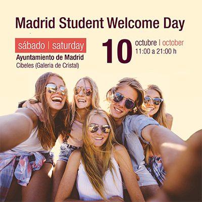 """""""madrid student welcome day"""" el gran encuentro de bienvenida de madrid a los estudiantes extranjeros"""