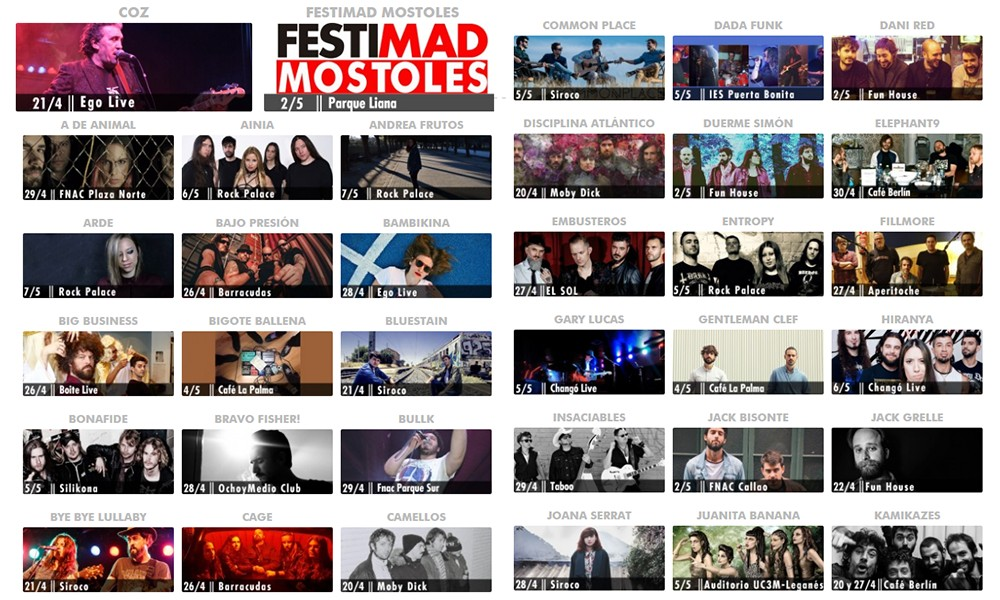 festimad: todas las músicas para todos los públicos.