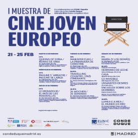 """nuevos talentos cinematográficos en la """"i muestra de cine joven europeo"""""""
