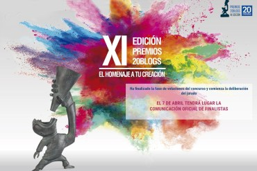 ya se conocen los finalistas de la xi edición de los premios 20blogs
