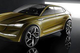 el futuro es elÉctrico con el Škoda vision e