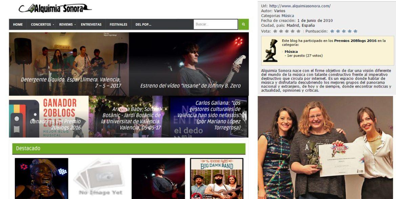 todos los ganadores de los premios 20 blogs – xi edición