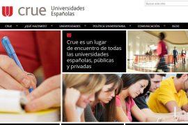 comunicado de crue universidades espaÑolas