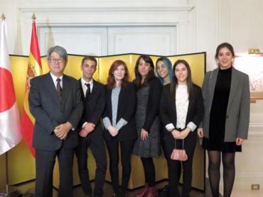 siete estudiantes de universidades españolas, seleccionados para el programa mirai de japón