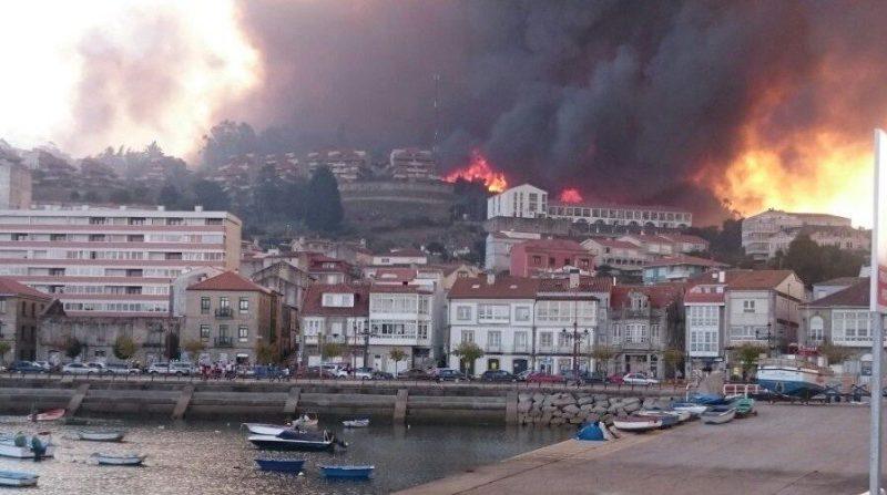 fuego convertido en tragedia