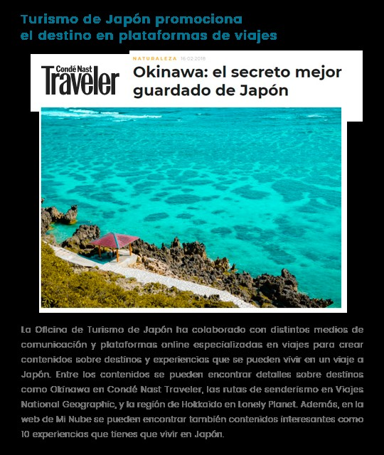 aumento de un 8,8% los viajeros españoles a japón en 2017