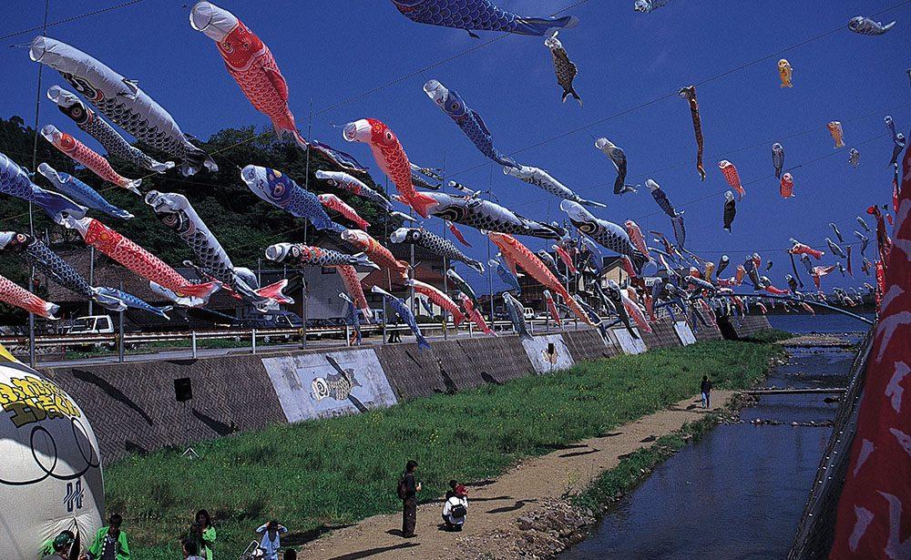 una primavera de festivales en japón