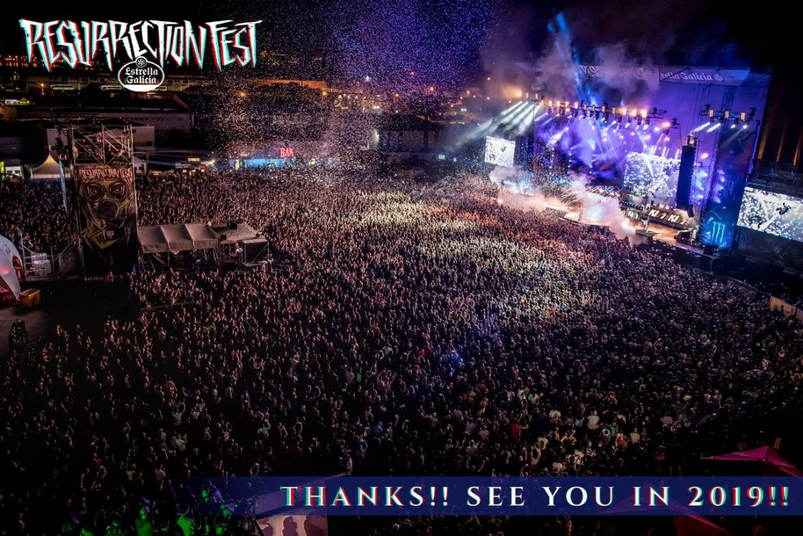 resurrection fest 2018 aftermovie oficial
