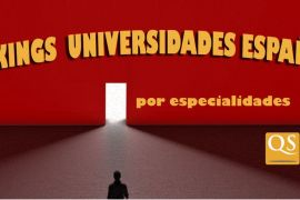 ranking qs 2019 , universidades espaÑolas por especialidades