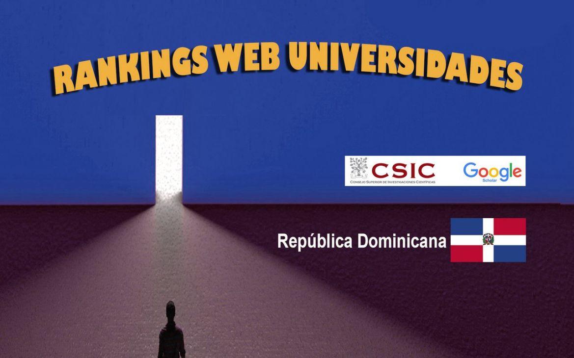 ranking web de universidades de república dominicana