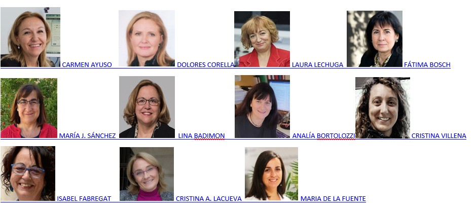 11 investigadoras ciber