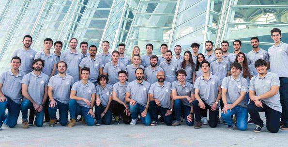 Premio a la Innovación en la Hyperloop Pod Competition para el equipo UPV
